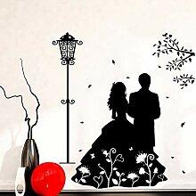 fdgdfgd Romantische Paar Wandaufkleber