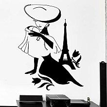 fdgdfgd Spaß kreative Mode Wandaufkleber Paris