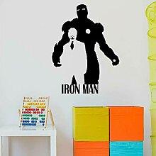 fdgdfgd Superheld Wandaufkleber Vinyl Fenster
