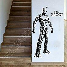 fdgdfgd Superheld Wandbild Heimdekoration