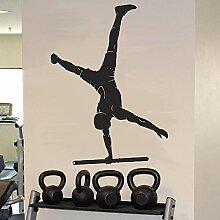fdgdfgd Turner Wandtattoos Athleten Training