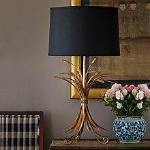 FDH Amerikanische kreative Lampen hotel Schlafzimmer Wohnzimmer, Bett Lampen 65 * 38 cm