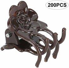 Fdit 200 Stück Kunststoff Pflanzenclip