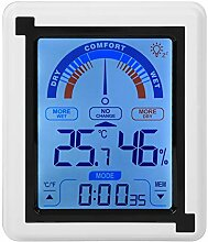 Fdit Digitales Hygrometer-Thermometer,