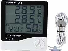 Fdit Dual Display Digital Thermo Hygrometer