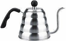 Fdit Teekanne über Kaffee Gießen Schwanenhals