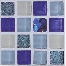 Fdit1 18 Mosaik-Fliesenaufkleber für Badezimmer,