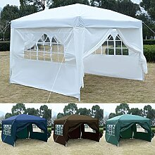 FDS 3x 3m Pop-Up-Pavillon Outdoor Garten Party
