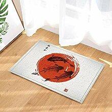 fdswdfg221 Karpfen Koi handbemalte japanische