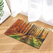 fdswdfg221 Walddekor-Rot-Ahorn-Bäume und Blätter