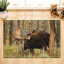 fdswdfg221 Wild Creature Decor Ältere Elch
