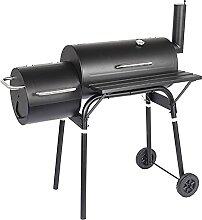 FEANG Grill BBQ-Kohlegrill mit Rädern, tragbarer