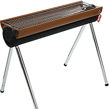 FEANG Grill Outdoor Edelstahl Barbecue Grill BBQ