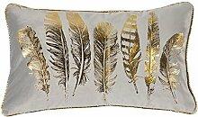 Feather Cushion Cover Kissenbezug Pad