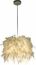 Feather Mini Pendant Lighting Shade, verstellbare