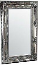 Febland FM642SV Edward Wandspiegel, Glas, Silber, 156 x 96 x 9 cm