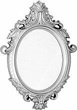 Febland Vittoria Wandspiegel, Silber