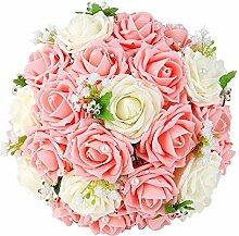 Febou Hochzeitsstrauß Brautjungfer Blumenstrauß