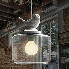 Feder-Lampenschirm, Tier-Lampen,