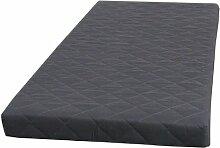 Federkernmatratze, grau, 90x200 cm