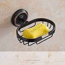 Feedpuoci Kupfer schwarz Bad Handtuchhalter