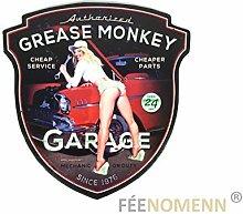 FEENOMENN Feenomens Metallschild Vintage - Grease