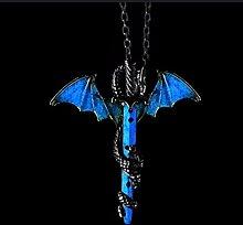 Féeries et merveilles Drachen-Figur – Halskette