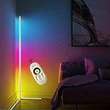 FEFCK LED Stehleuchte Eckleuchten Dimmbar, RGB