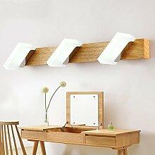 FEI LED Badezimmerspiegel Licht Moderne Massivholz