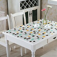FEI Rechteckige Tischdecke Kunststoff Tischdecke