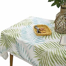Feicuan Spitze Leaf Printed Tischdecke Table Cover für Home Dinner Decor