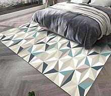 Feidaeu Teppich für Wohnzimmer rutschfeste weiche