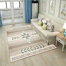 Feidaeu Teppich für Wohnzimmer weiche rutschfeste