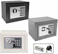 Feidak 4,6L Tresor Safe für zu Hause Shop, Massiv