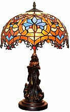 Feidi Tiffany Tischlampe Barocklampe