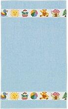 Feiler GmbH Kinderhandtuch Benjamin 50/80 Blau