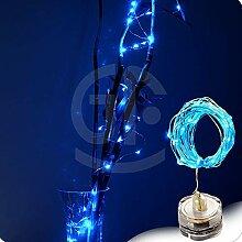 FeiliandaJJ Lichterkette 1/3M 10/30Led Wasserdicht