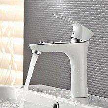 Feines kupferweißes Waschbecken Waschbecken
