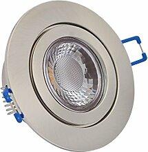 Feinlux® 3er Set IP44 LED Einbaustrahler Silber