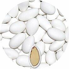 Feinste italienische Mandeltradition - 3kg Hochzeitsmandeln* von EinsSein® bis zu 198 Gastgeschenke Zuckermandeln Schokomandeln Bonboniere Schokotafeln weiss verpackung kg weiß organzasäckchen säckchen blau rosa