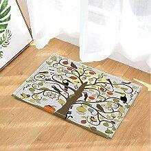FEIYANG Abstrakter stilisierter Baum mit Vögeln