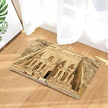 FEIYANG Ägyptische Fernweh Bad Teppiche Große