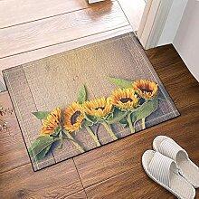 FEIYANG Blumen auf Holzleisten, dekorative