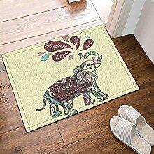 FEIYANG Cartoon Glücklicher Elefant Für