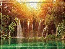 FEIYANG Landschaftsdekoration Wasserfallpool Bad