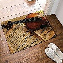 FEIYANG Musikdekoration Notenblatt Violine