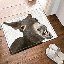 FEIYANG Tierdekoration Esel lustig Badezimmer