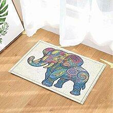 FEIYANG Tierdekoration Stickfigur Elefant Bad