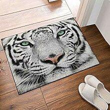 FEIYANG Tierdekoration weißer Tigerkopf des