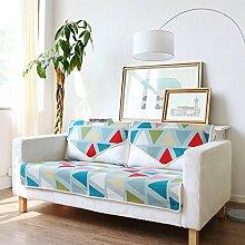 FEIZIModische amerikanische sofa-matte,stoff sitzkissen,four seasons anti-slip sofa handtuch cover,kissen-E 70x180cm(28x71inch)